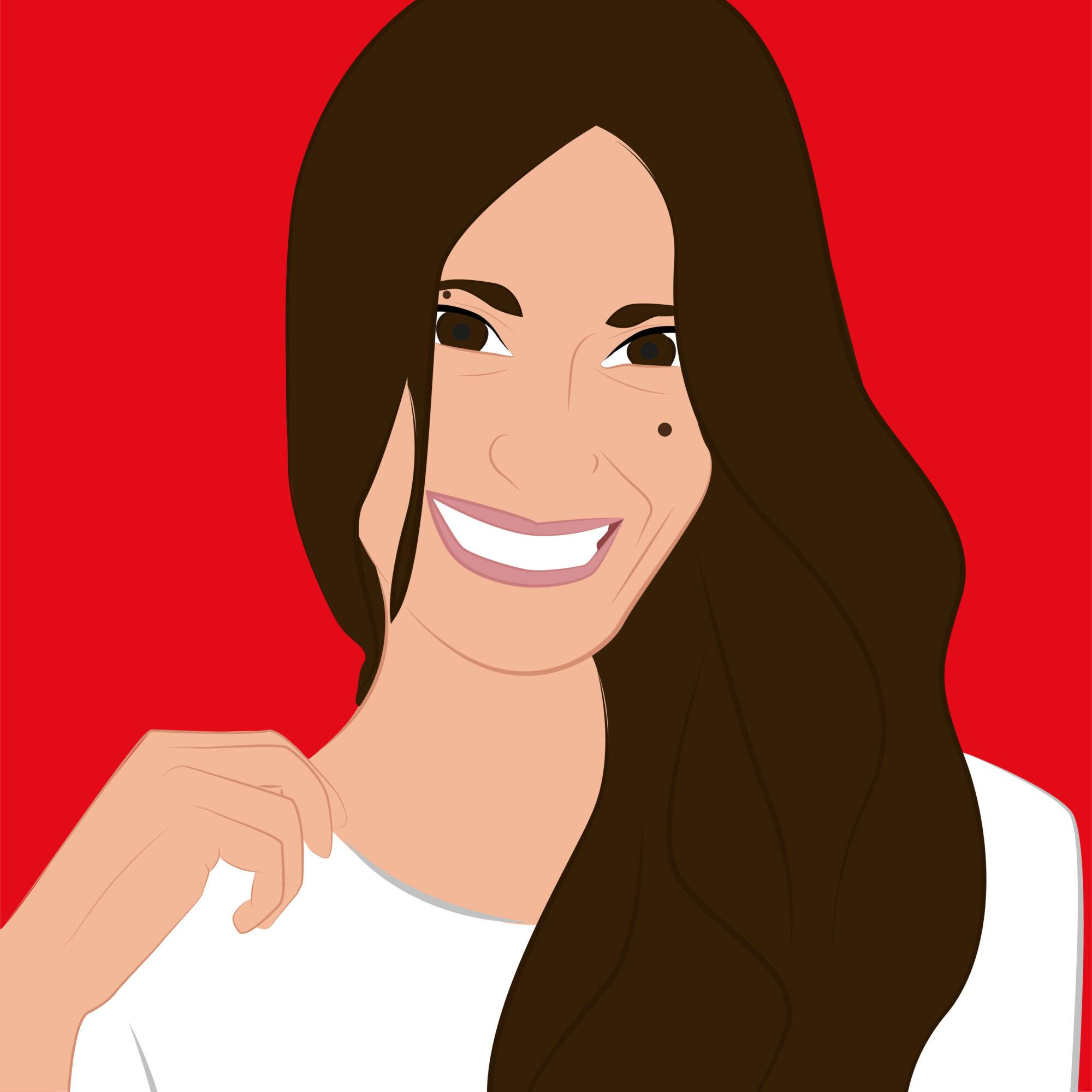 Illustrazione Chi siamo profilo Giulia1