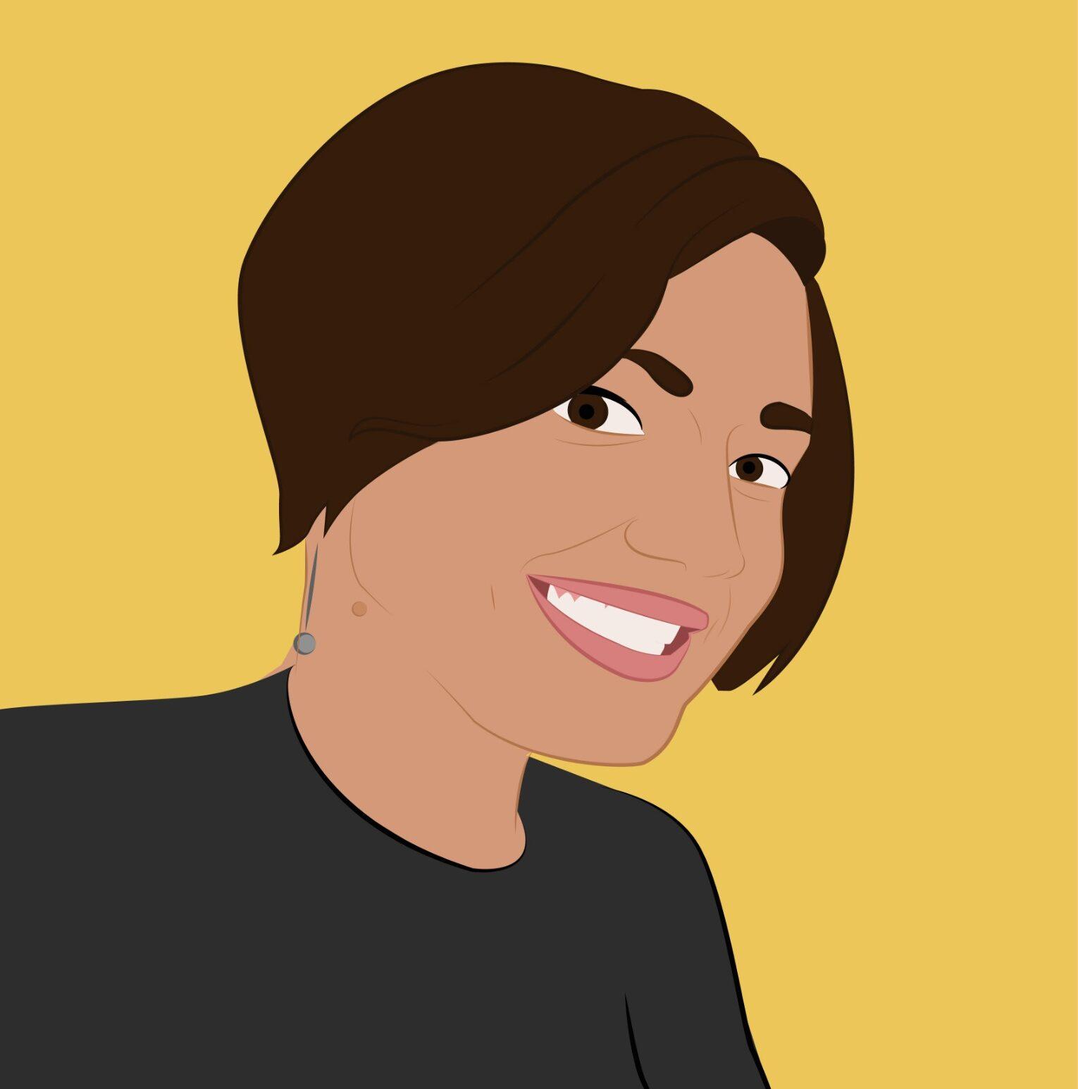 Illustrazione Cris profilo